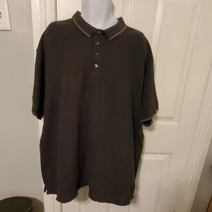 Claiborne Men's Polo 4XLT